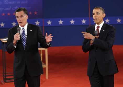 Obama ou Romney, em quem vocês votariam se pudessem?