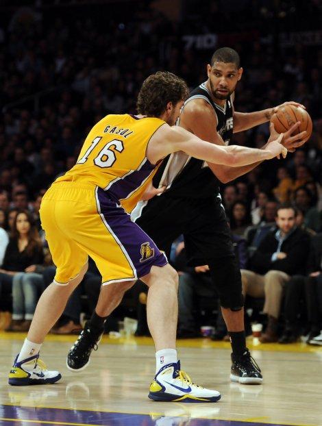 Hora da verdade para Spurs e Lakers