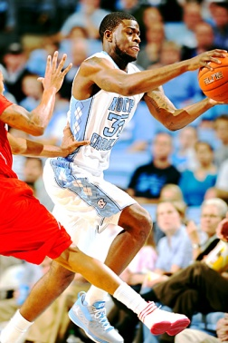 Bullock é da mesma universidade de Michael Jordan