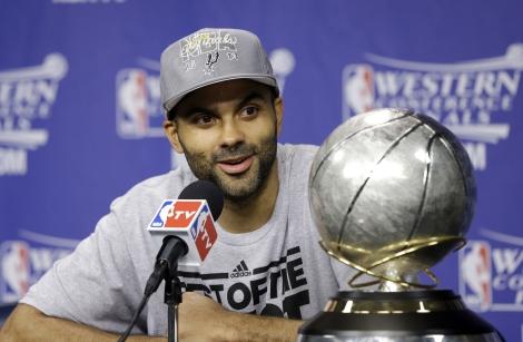 Nosso MVP! (Foto: AP)