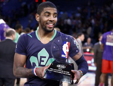 Kyrie Irving MVP All-Star Game