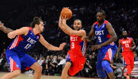 Tony Parker no All-Star Game 2013